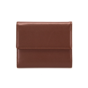 MEN SNAP WALLET - BROWN