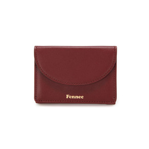 [12/23 예약배송]HALFMOON MINI WALLET - SMOKE RED
