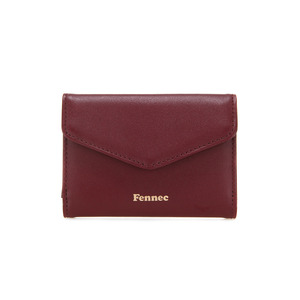 COMPACT WALLET - SMOKE RED