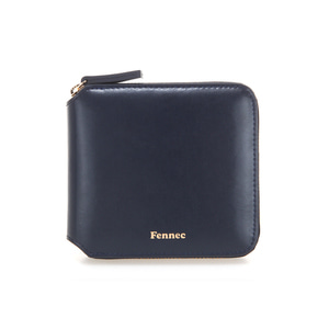 ZIPPER WALLET - NAVY
