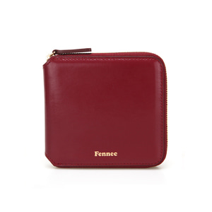 ZIPPER WALLET - MARSALA