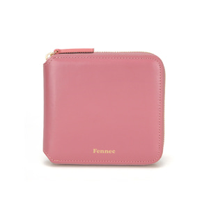 ZIPPER WALLET - ROSE PINK