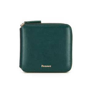 ZIPPER WALLET - MOSS GREEN