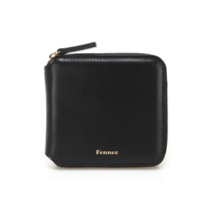 [12/30 예약배송]ZIPPER WALLET - BLACK