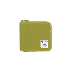 C&S ZIPPER WALLET - OLIVE