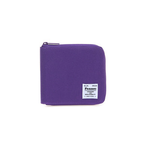 C&S ZIPPER WALLET - PURPLE