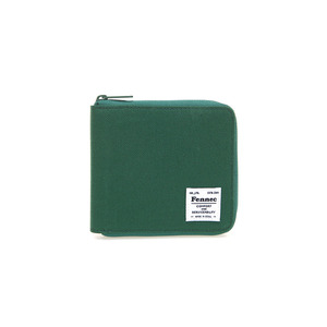 C&S ZIPPER WALLET - GREEN