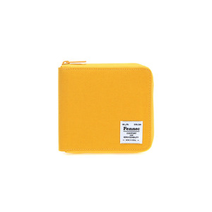 C&S ZIPPER WALLET - YELLOW