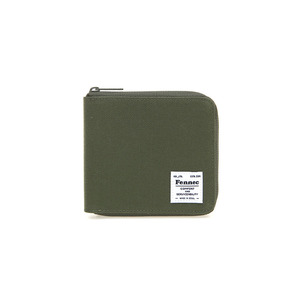C&S ZIPPER WALLET - KHAKI