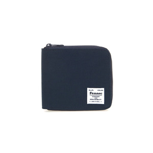 C&S ZIPPER WALLET - NAVY