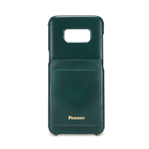 [DISCONTINUE] LEATHER GALAXY S8 CARD CASE - MOSS GREEN