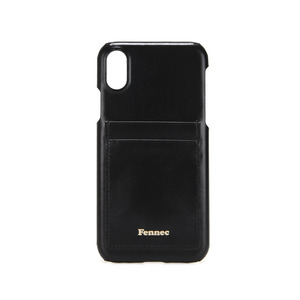 [12/27 예약배송]LEATHER IPHONE X/XS CARD CASE - BLACK