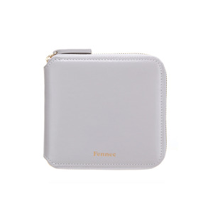 ZIPPER WALLET - LIGHT GREY