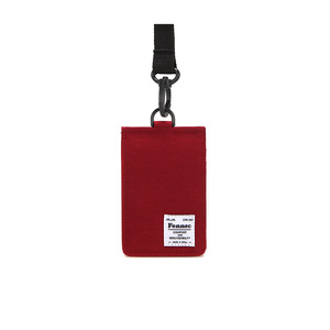 C&S CARD POCKET - SMOKE RED