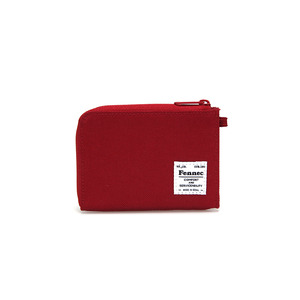 C&S MINI WALLET - SMOKE RED