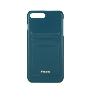 LEATHER IPHONE 7+/8+ CARD CASE - SEAGREEN
