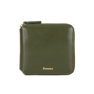 [12/30 예약배송]ZIPPER WALLET - KHAKI