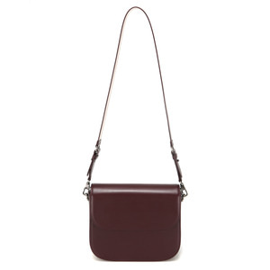 [DISCONTINUE] TROIS SQUARE BAG (L) - WINE
