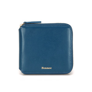 ZIPPER WALLET - DEEP BLUE
