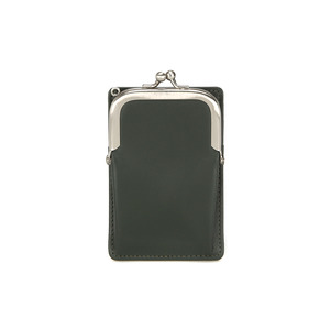 [DISCONTINUE] FRAME MINI CARD WALLET - KHAKI