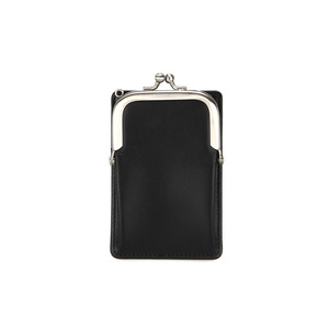 [DISCONTINUE] FRAME MINI CARD WALLET - BLACK