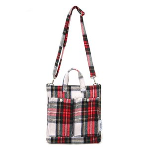 [DISCONTINUE] C&S CHECK POCKET BAG - RED