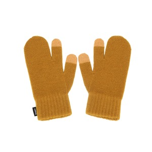 KNIT TIMI GLOVES - CAMEL