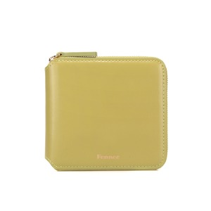 ZIPPER WALLET - OLIVE