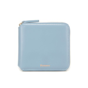 ZIPPER WALLET - FOG BLUE