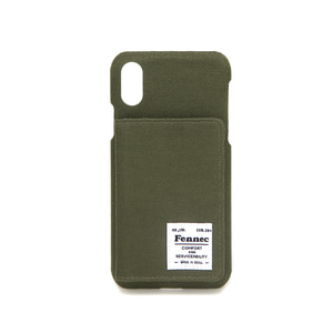 C&S iPHONE X/XS POCKET CASE - KHAKI