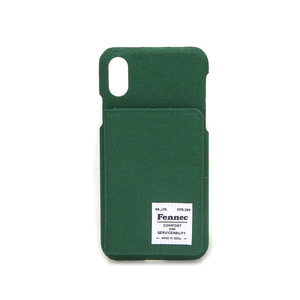 C&S iPHONE X/XS POCKET CASE - GREEN