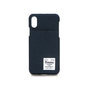C&S iPHONE X/XS POCKET CASE - NAVY