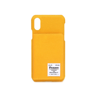 C&S iPHONE X/XS POCKET CASE - YELLOW