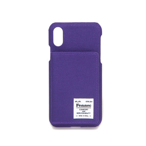 C&S iPHONE X/XS POCKET CASE - PURPLE