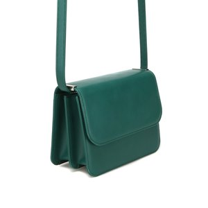 [DISCONTINUE] DOUBLE BAG - FOREST GREEN