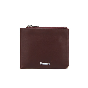 [12/30 예약배송]SOFT FOLD WALLET - WINE