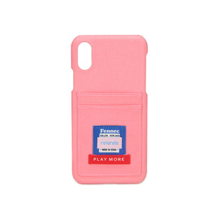 FENNEC X ROLAROLA IPHONEX/XS CARD CASE - LIGHT PINK