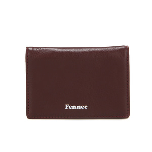 SOFT MINI WALLET - WINE