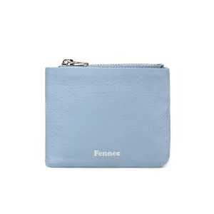 SOFT FOLD WALLET - FOG BLUE