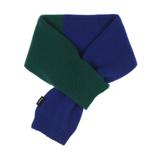 KNIT TIMI MUFFLER - BLUE