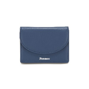 HALFMOON ACCORDION POCKET - DUSTY BLUE