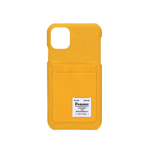 C&S iPHONE 11 CARD CASE - YELLOW