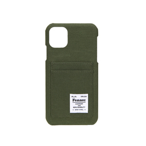 C&S iPHONE 11 CARD CASE - KHAKI