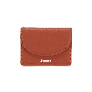 HALFMOON ACCORDION POCKET - AMBER