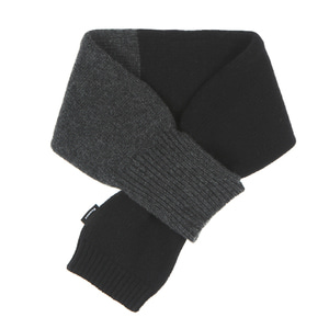 KNIT TIMI MUFFLER - BLACK