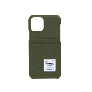 [12/27 예약배송]C&S iPHONE 11 PRO CARD CASE - KHAKI