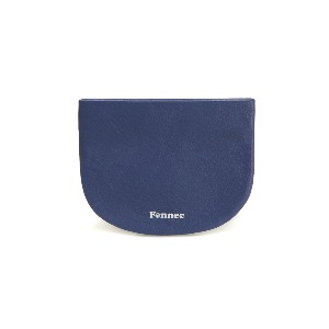 HALFMOON MINI POUCH - DUSTY BLUE