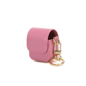 [12/17 예약배송]LEATHER AIRPODS CASE - ROSE PINK