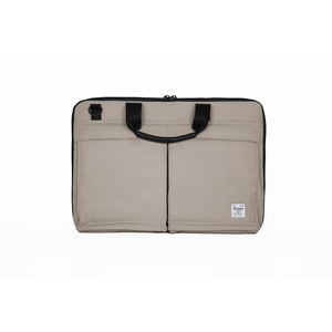 WORKING STATION LAPTOP POUCH - BEIGE